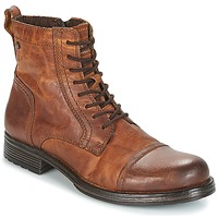 Shoes Men Mid boots Jack & Jones JFW RUSSEL Cognac