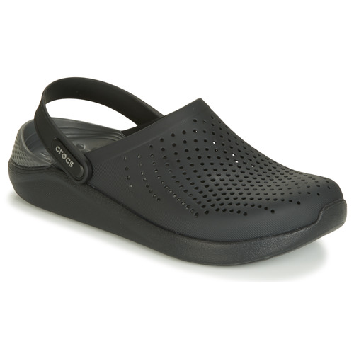 67d49ea92 Crocs LITERIDE CLOG Black - Free delivery with Spartoo UK ! - Shoes ...