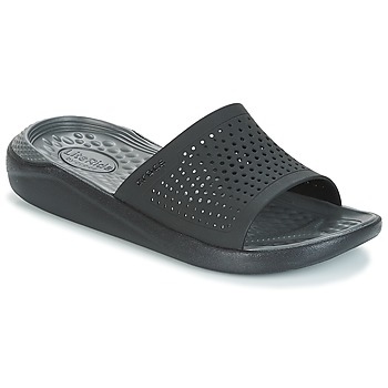 Shoes Tap-dancing Crocs LITERIDE SLIDE Black