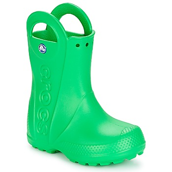 Shoes Children Wellington boots Crocs HANDLE IT RAIN BOOT KIDS Green