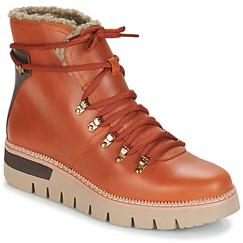 Shoes Women Ankle boots Caterpillar ATTENTION FUR WP Rust