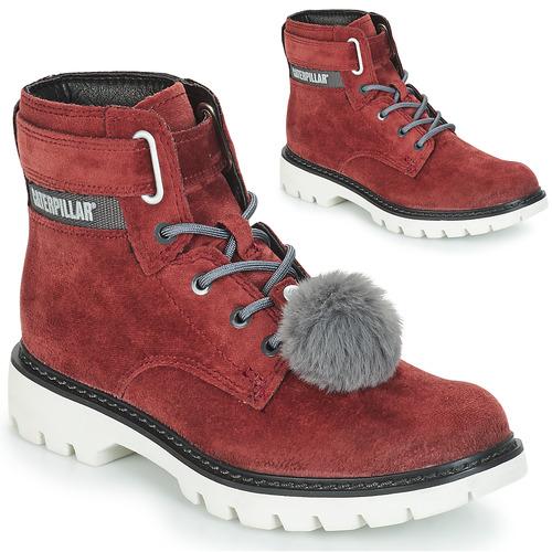 Shoes Women Ankle boots Caterpillar CONVERSION VELVET Purple