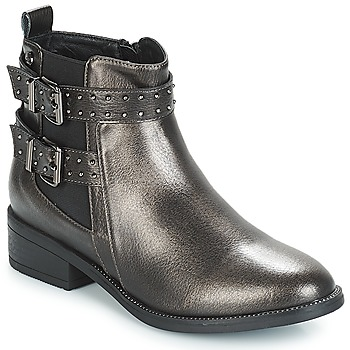 Shoes Women Mid boots Xti ADBA Metallic