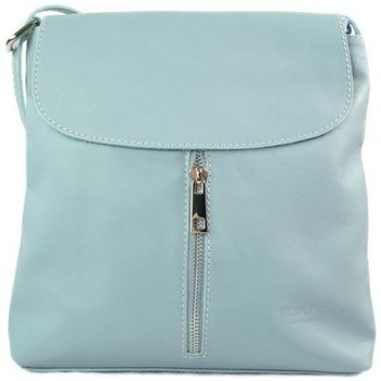 Bags Women Small shoulder bags Vera Pelle VPC1077XBB Blue