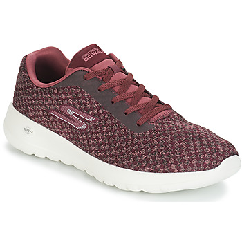 Shoes Women Low top trainers Skechers GO WALK JOY PITOVAL Burgundy
