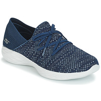 Shoes Women Slip ons Skechers YOU PROMINENCE Blue