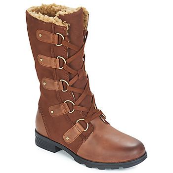 Shoes Women High boots Sorel EMILIE LACE Brown