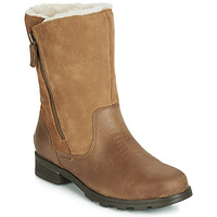 Shoes Women High boots Sorel EMILIE FOLDOVER Camel