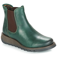 Shoes Women Mid boots Fly London SALV Green