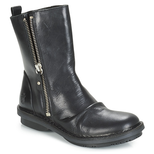 Shoes Women Mid boots Fly London FADE  black