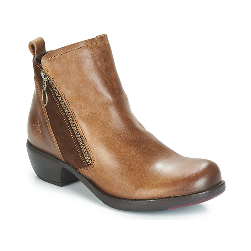 Shoes Women Mid boots Fly London MELI Camel