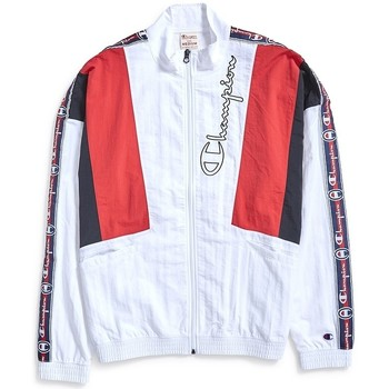Clothing Men Track tops Champion Track Top White White
