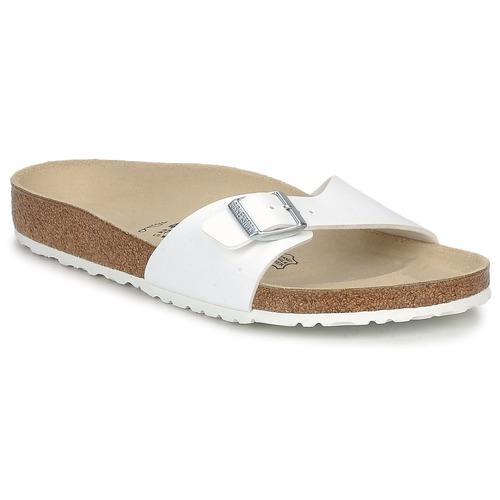 Shoes Men Mules Birkenstock MADRID Mens White