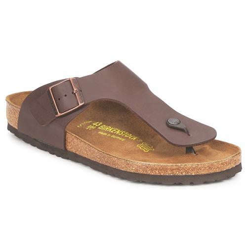 Shoes Men Flip flops Birkenstock RAMSES Brown
