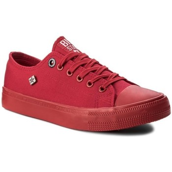 Shoes Women Low top trainers Big Star AA274007 Red