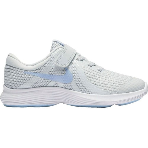 Shoes Children Low top trainers Nike Revolution 4 Psv Grey-Blue-White
