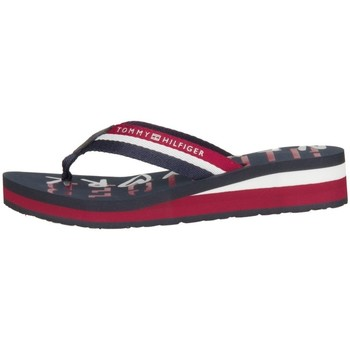 Shoes Women Flip flops Tommy Hilfiger Tommy NY Black-Red
