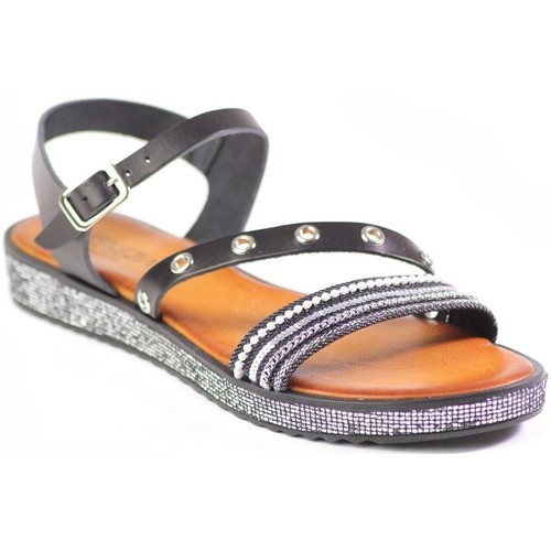 Shoes Women Sandals Venezia M728D PJ Ner Black