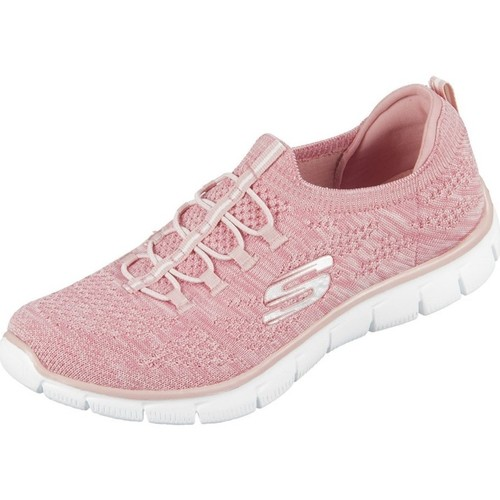 Shoes Women Low top trainers Skechers Empire Pink