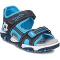 Shoes Children Sandals Superfit Mike Black-Blue