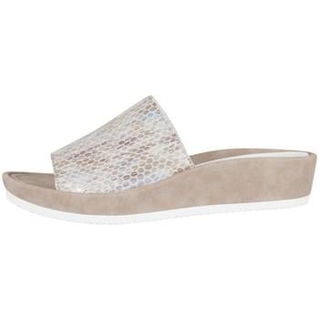 Shoes Women Clogs Ara Tivoli Beige-White