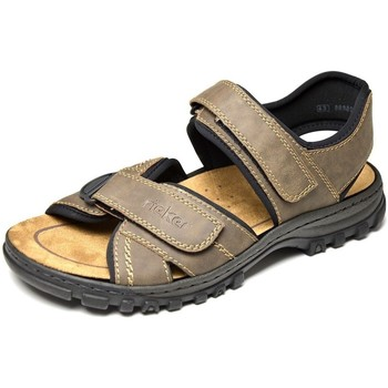 Shoes Men Outdoor sandals Rieker 25051 Brown