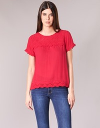 Clothing Women Tops / Blouses Betty London JALILI Red