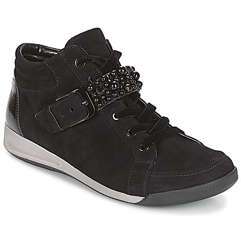 Shoes Women Hi top trainers Ara GESSINO Black