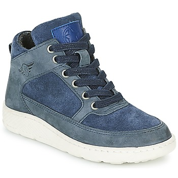 Shoes Boy Hi top trainers Bullboxer LAVINO Blue