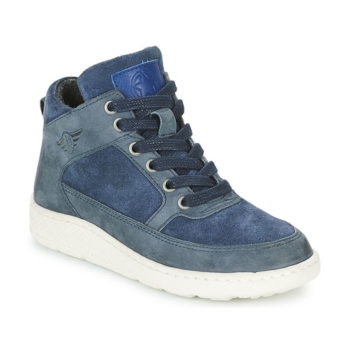 Shoes Boy Hi top trainers Bullboxer LAVINO Blue