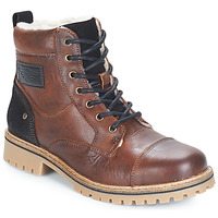 Shoes Boy Mid boots Bullboxer LUNOP Brown