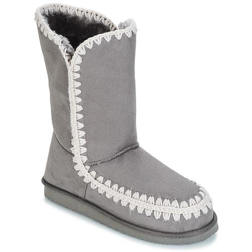 Shoes Women High boots Les Petites Bombes NATHALIE Grey