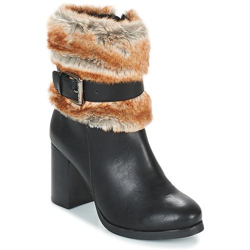 Shoes Women Ankle boots Les Petites Bombes JESSY Black
