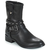 Shoes Women Mid boots Les Petites Bombes LOUNA Black