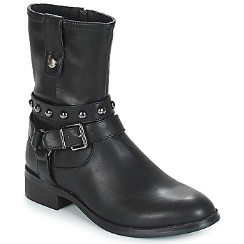 Shoes Women Mid boots LPB Shoes LOUNA Black