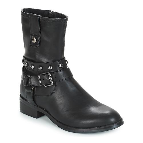 Shoes Women Mid boots Les Petites Bombes LOUNA Black