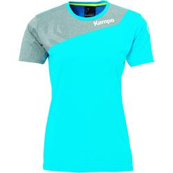 Clothing Women Short-sleeved t-shirts Kempa Maillot femme  Core 2.0 bleu flash/gris