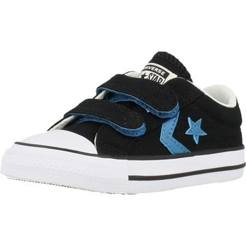 Shoes Children Low top trainers Converse STAR PLAYER 2V OX Black