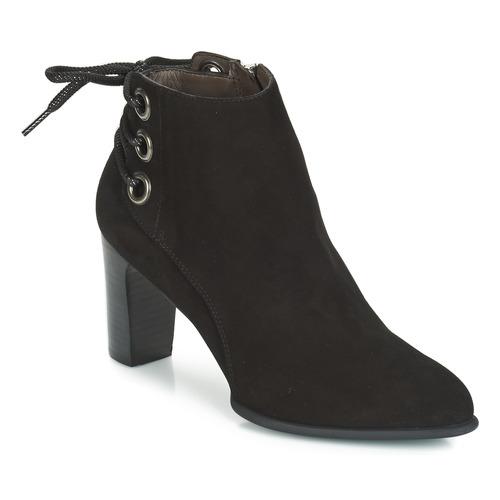 Shoes Women Ankle boots Perlato OERAD Black