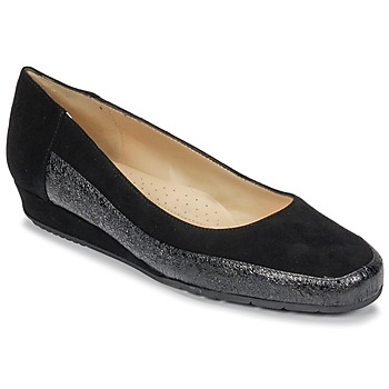 Shoes Women Flat shoes Perlato TRASA Cam / Black