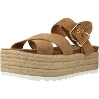 Shoes Women Espadrilles Alpe 3781 11 Light Brown