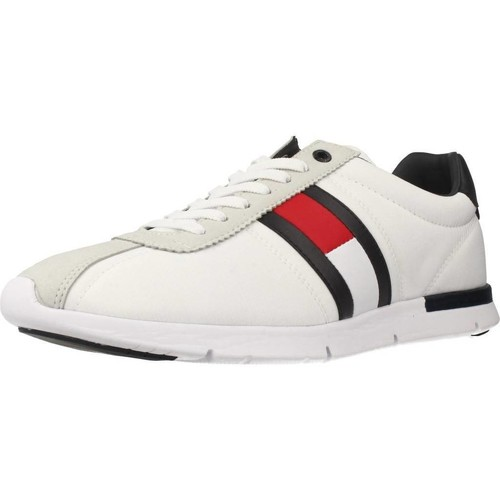Shoes Men Low top trainers Tommy Hilfiger FM0FM01329 White