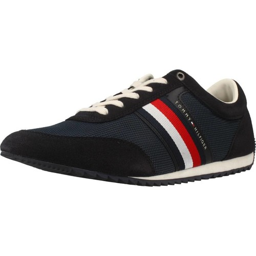 Shoes Men Low top trainers Tommy Hilfiger FM0FM01314 Blue