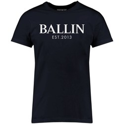 Clothing Men short-sleeved t-shirts Ballin Est. 2013 Basic Shirt Blue