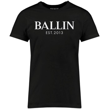Clothing Men short-sleeved t-shirts Ballin Est. 2013 Basic Shirt Black