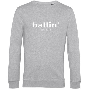 Clothing Men jumpers Ballin Est. 2013 Basic Sweater Grey