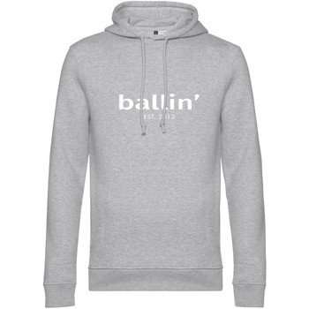 Clothing Men sweaters Ballin Est. 2013 Basic Hoodie Grey