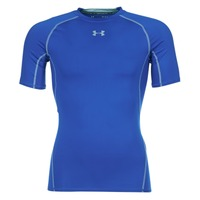 Clothing Men short-sleeved t-shirts Under Armour UA HG ARMOUR SS COMPRESSION Blue