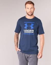 Clothing Men Short-sleeved t-shirts Under Armour UA GL FOUNDATION SS T Marine