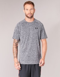 Clothing Men Short-sleeved t-shirts Under Armour UA TECH SS TEE Grey